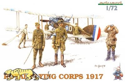 Royal Flying Corps 1917 - Figuren Set - 1:72