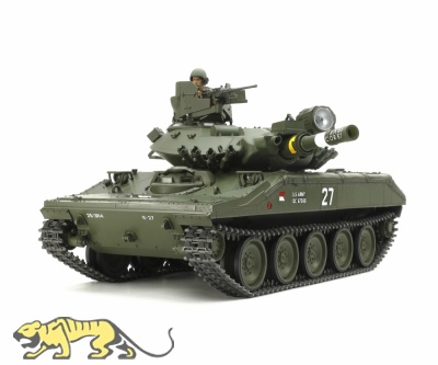 M551 Sheridan - US Airborne Tank - RC Full Option Kit - 1:16
