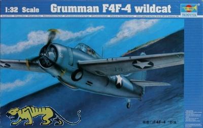 Grumman F4F-4 Wildcat - 1:32