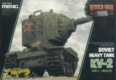 KV-2 - Soviet Heavy Tank - World War Toons - 1/Egg