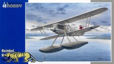 Heinkel He 51 B-2 (W) - Wasserflugzeug - 1:48