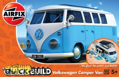 Quick Build - Volkswagen Camper Van - Blau