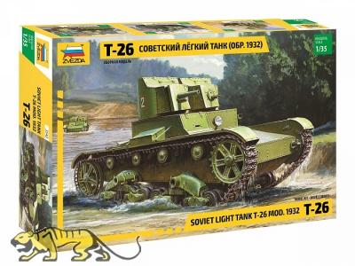 T-26 Model 1932 - Soviet Light Tank - 1:35
