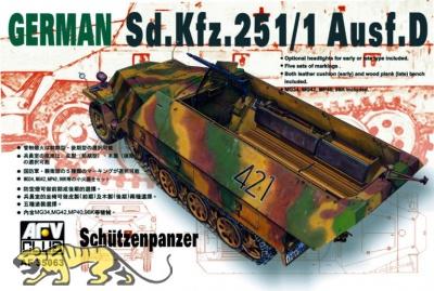 Sd.Kfz. 251/1 Ausf. D - Schützenpanzer - 1:35