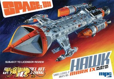 Space 1999 / Mondbasis Alpha 1 - Hawk Mk. IX - 1:72