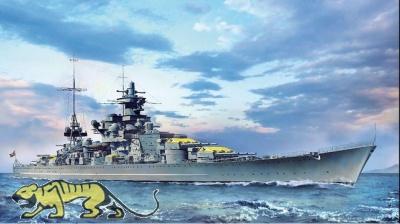 Scharnhorst - Deutsches Schlachtschiff  - 1940 - 1:350