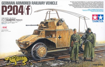 P204 (f) - German Armored Railway Vehicle - 1/35