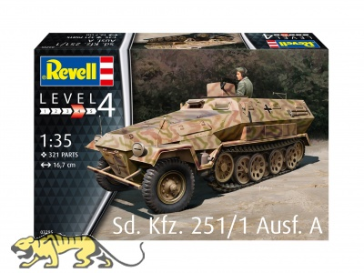 Sd.Kfz. 251/1 Ausf. A - 1/35