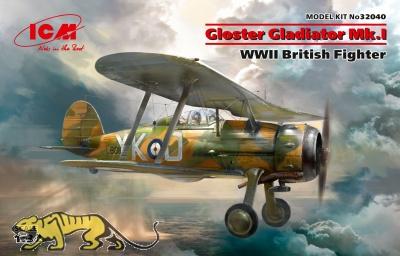 Gloster Gladiator Mk. I - WWII British Fighter - 1/32