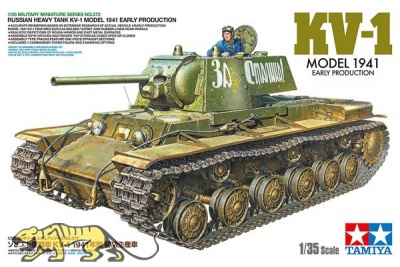KV-1 - Russian Heavy Tank - Model 1941 - Early Production - 1/35