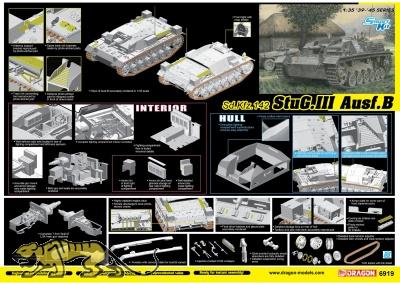 StuG. III Ausf. B - Sd.Kfz. 142 - 1/35