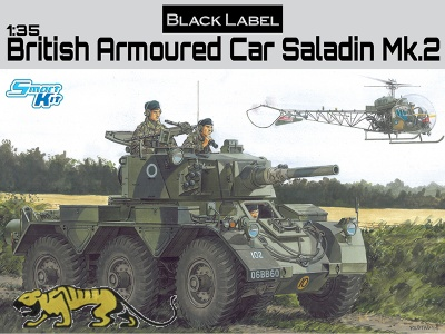 Saladin Mk. 2 - British Armoured Car - 1/35