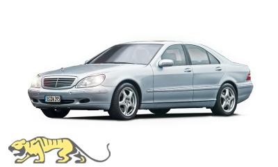 Mercedes Benz 600S - 1/24