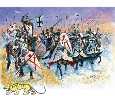Livonian Knights - XIII A.D. - 1/72