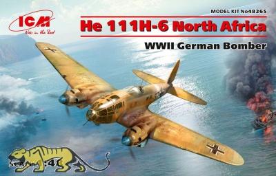 Heinkel He 111 H-6 - North Africa - 1/48