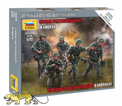 German Panergrenadiers in Anorak - 1/72