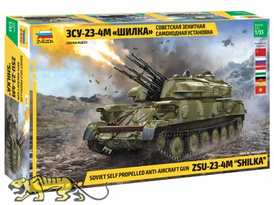 ZSU-23-4M - SHILKA - Soviet self-propelled anti-aircraft gun - 1/35