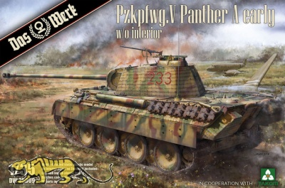 Panzerkampfwagen Panther Ausf. A - Early Production - 1/35