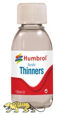Humbrol Acrylic Thinner - 125ml