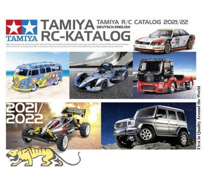 Tamiya RC-Catalog 2021- English / German