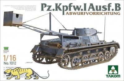 Panzerkampfwagen I Ausf. B with Abwurfvorrichtung - 1/16