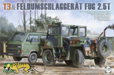 Bundeswehr T3 & Feldumschlaggerät FUG 2,5t - 1/35