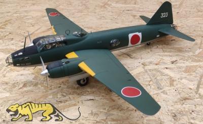 Mitsubishi G4M1 Model 11 - Admiral Yamamoto Transport - Finished Model - 1/48