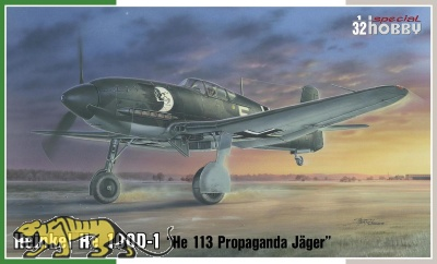 Heinkel He 100D-1 - Propaganda Jäger He 113 - 1/32
