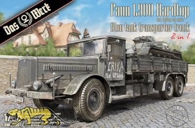 Faun L900 - Hardtop - 9t Tank Transporter Truck - 1/35