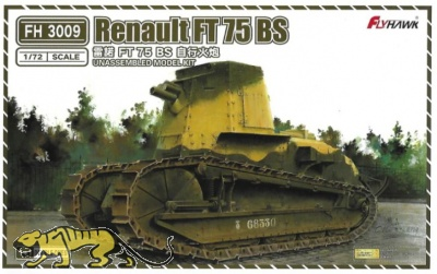 Renault FT 75 BS - 1+1 - 1/72