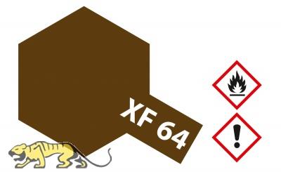 Tamiya XF64 - Red Brown - Flat