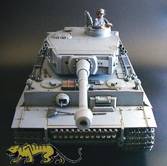1/16 Pz.Kpfw. VI Tiger I Ausf. E - RC Full Option Kit