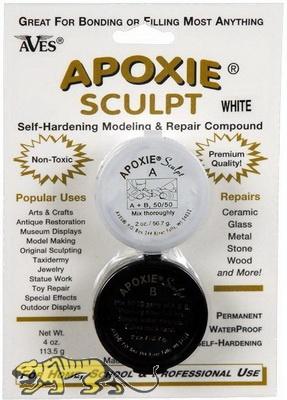 Apoxie Sculpt, Natural, Self-Hardening Modeling & Repair Compoun
