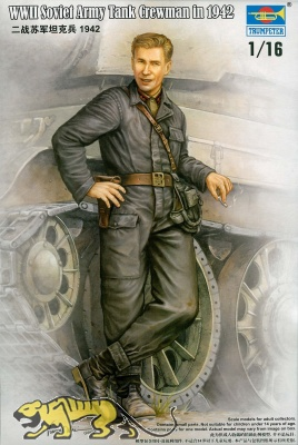WWII Russicher Panzersoldat, 1942, 1:16