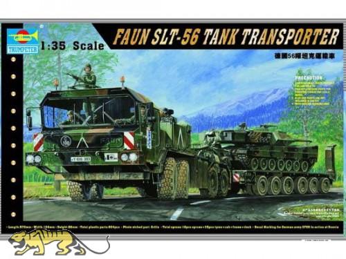 Deutscher Panzertransporter SLT-56 - FAUN - 1:35
