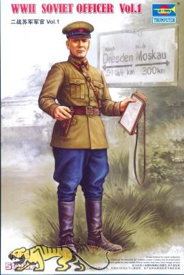 WWII Russischer Offizier Vol. 1 1:16
