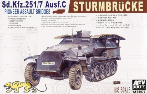 Sd.Kfz. 251/7 Ausf. C - Sturmbrücke - 1:35