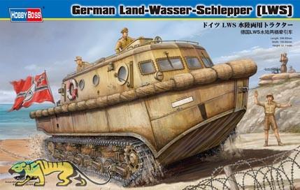 Deutscher Land-Wasser-Schlepper (LWS) frühe Produktion - 1:35
