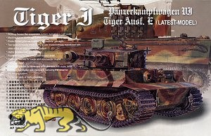 Tiger I Ausf. E - späte Produktion - 1:35