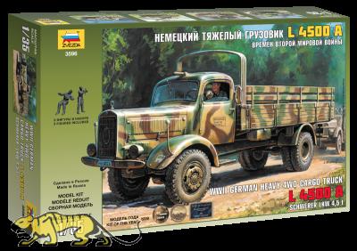 Deutscher schwerer LKW 4,5 Tonnen L4500A - 1:35