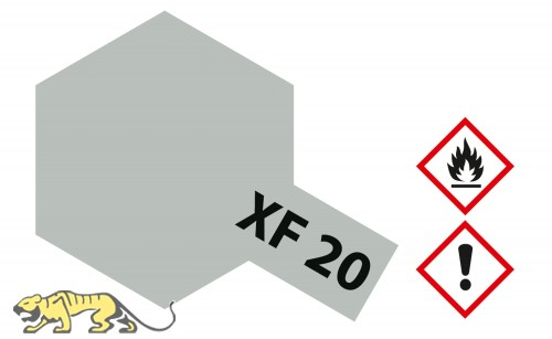 Tamiya XF20 - Mittel-Grau - Matt