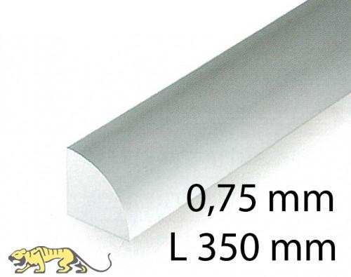 Quarter round - 0,75 x 350 mm (5 Pcs.)