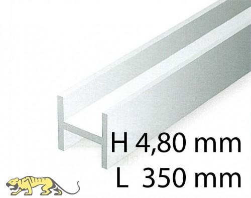 H-Beams - 4,80 x 350 mm (3 Pcs.)