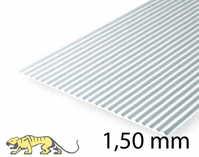 Metal Roof & Corrugated Metal Siding Sheet - 1,50 mm