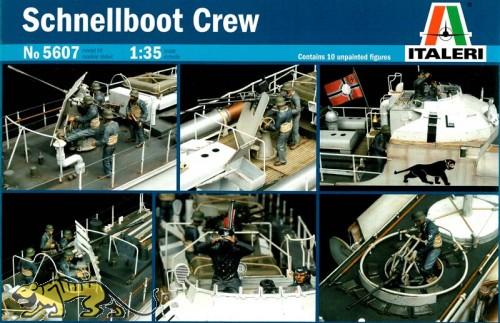 Schnellboot Besatzung - 1:35