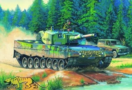 Leopard 2A4 - Bundeswehr Hauptkampfpanzer - 1:35