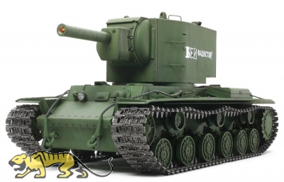 1:16 Russ. Durchbruchspanzer KV-2 - RC Full-Option Kit