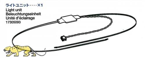 Lichteinheit für Tamiya KV-1 / KV-2 (56028, 56030) 1:16 mit LED