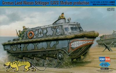 Deutscher LWS Land-Wasser-Schlepper Mittlere Produktion - 1:35