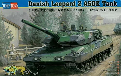 Leopard 2A5DK - Dänischer Hauptkampfpanzer - 1:35